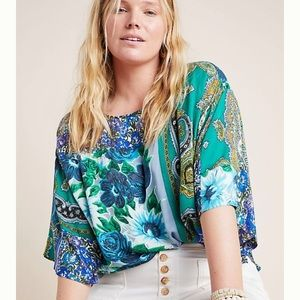 Anthropologie Ellery Blouse - Plus Size